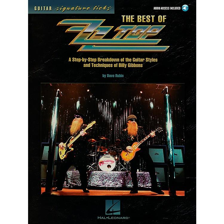 Hal LeonardThe Best of ZZ Top Guitar Signature Licks Book with CD