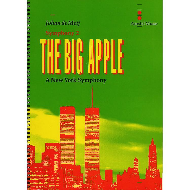Amstel MusicThe Big Apple (A New York Symphony)(Symphony No. 2) Concert Band Level 5-6 Composed by Johan de Meij