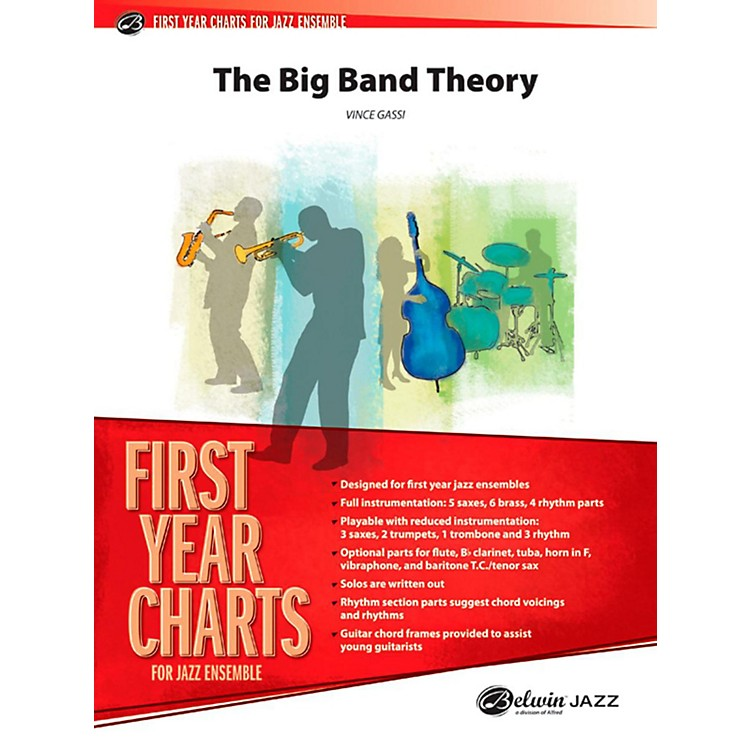 Alfred The Big Band Theory Jazz Band Grade 1