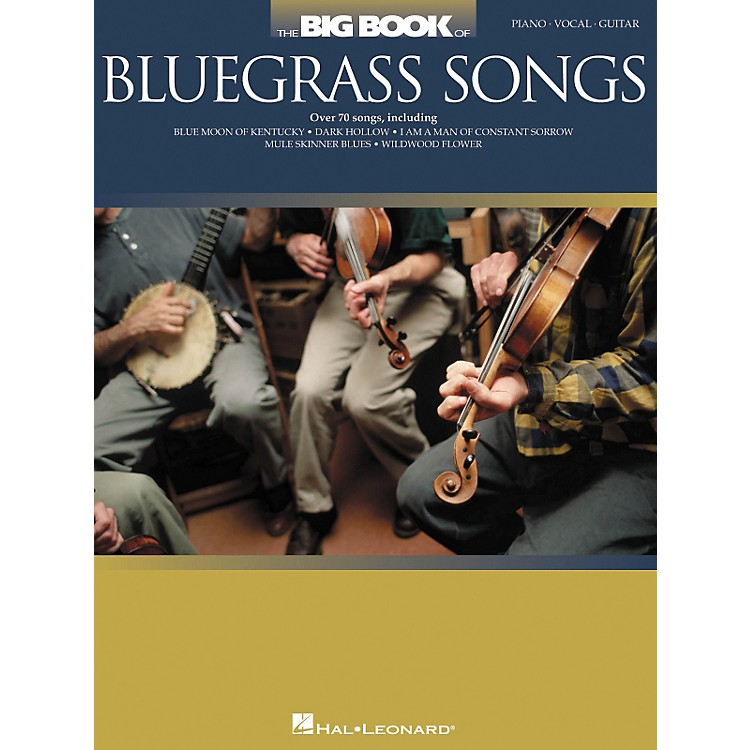 Hal LeonardThe Big Book Of Bluegrass Songs Piano/Vocal/Guitar Songbook