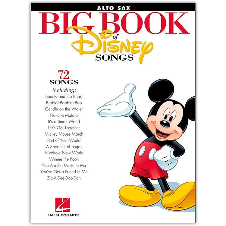 Hal LeonardThe Big Book Of Disney Songs–Alto Sax