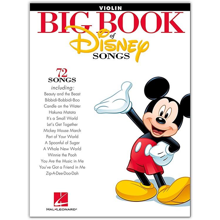 Hal LeonardThe Big Book Of Disney Songs–Violin