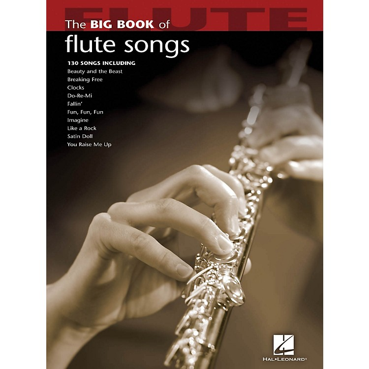 Hal Leonard The Big Book Of Flute Songs