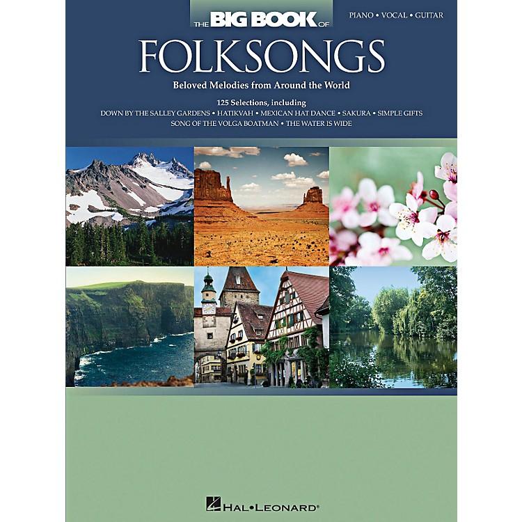 Hal LeonardThe Big Book Of Folksongs for Piano/Vocal/Guitar
