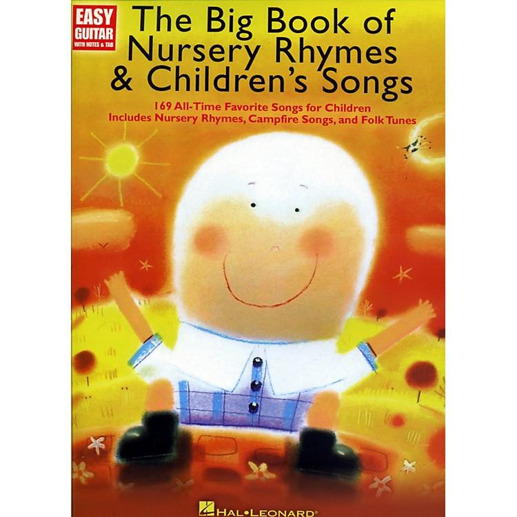 Music SalesThe Big Book Of Nursery Rhymes & Children's Songs - Easy Guitar With Tab