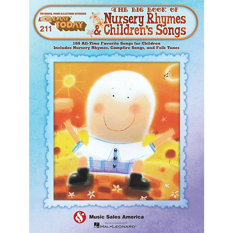Hal LeonardThe Big Book Of Nursery Rhymes & Children's Songs E-Z Play 211
