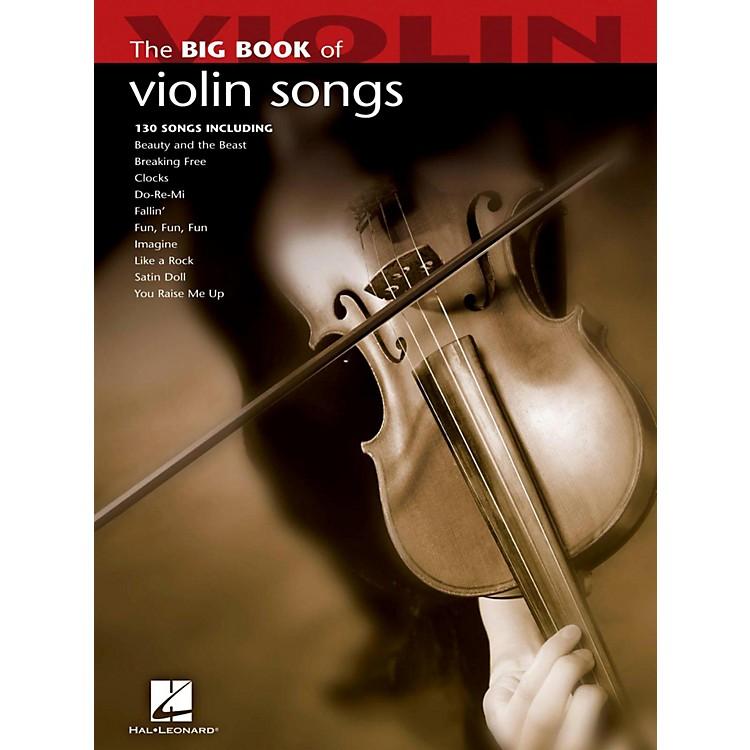 Hal LeonardThe Big Book Of Violin Songs