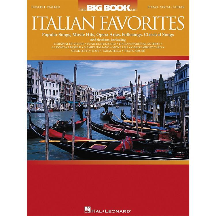 Hal LeonardThe Big Book of Italian Favorites Piano/Vocal/Guitar Songbook