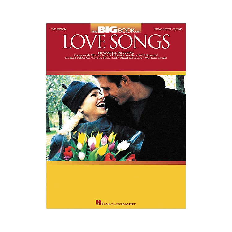 Hal Leonard The Big Book of Love Songs Piano, Vocal, Guitar Songbook