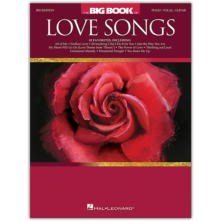 Hal LeonardThe Big Book of Love Songs for Piano/Vocal/Guitar - 3rd Edition