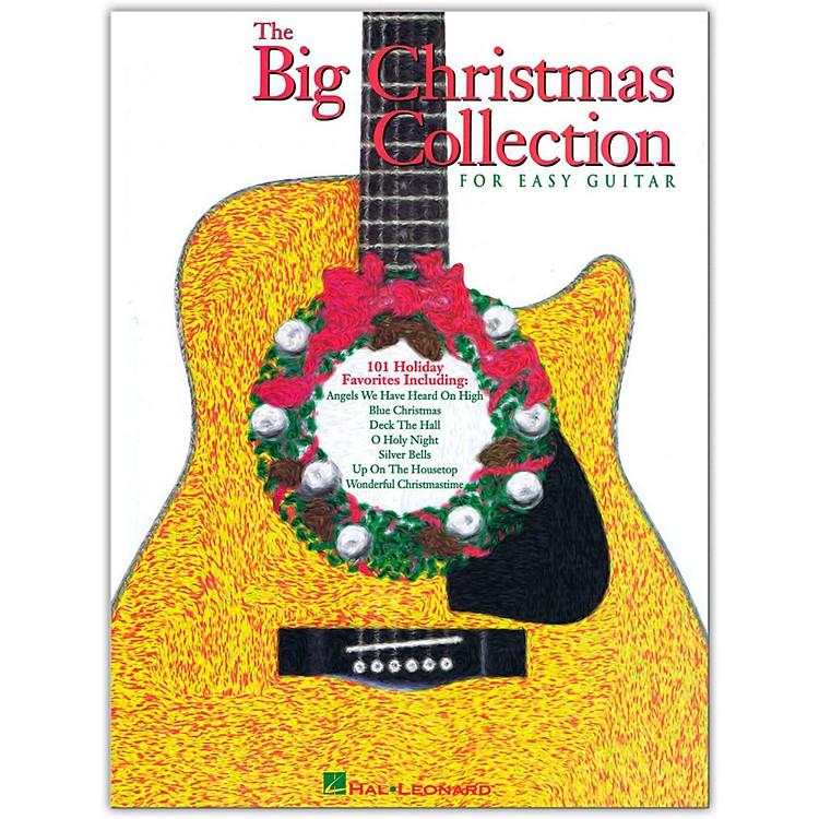 Hal LeonardThe Big Christmas Collection Easy Guitar Tab Songbook