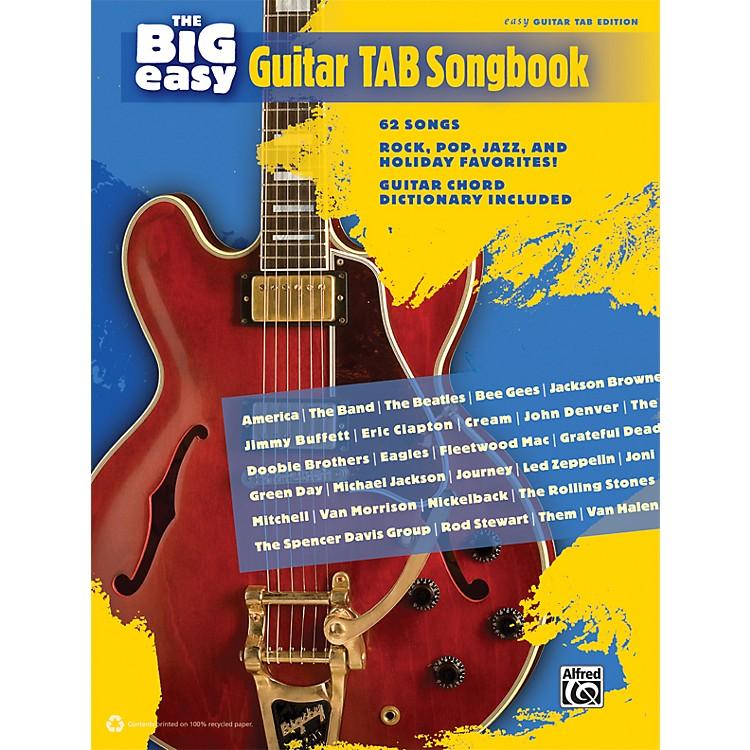 AlfredThe Big Easy Guitar TAB Songbook