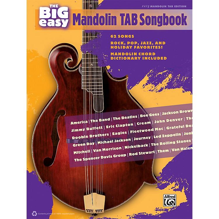 AlfredThe Big Easy Mandolin TAB Songbook