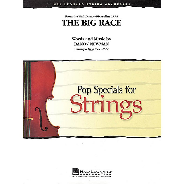 Hal Leonard The Big Race (from Cars) Pop Specials for Strings Series Softcover Arranged by John Moss