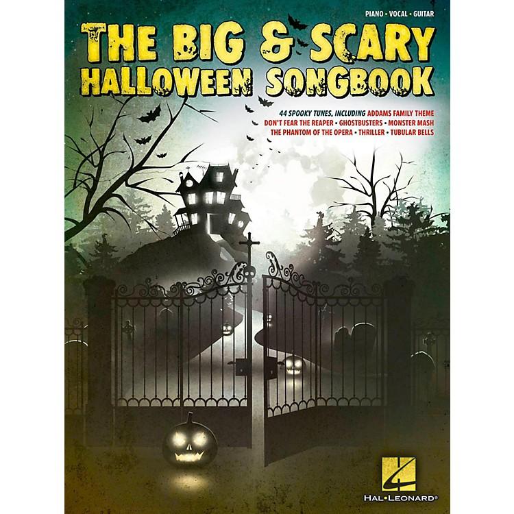 Hal LeonardThe Big & Scary Halloween Songbook for Piano/Vocal/Guitar