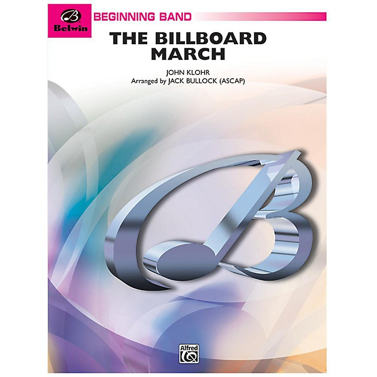 Alfred The Billboard March Concert Band Grade 1 Set