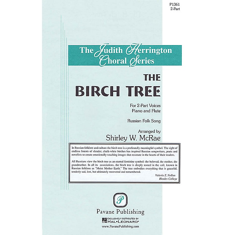 PavaneThe Birch Tree 2-Part arranged by Shirley McRae