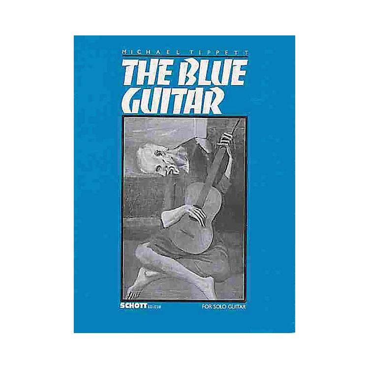 SchottThe Blue Guitar (Sonata for Guitar (1982-83)) Schott Series