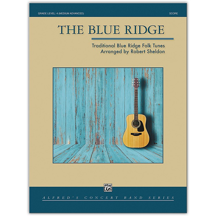 Alfred The Blue Ridge Conductor Score 4 (Medium Difficult)