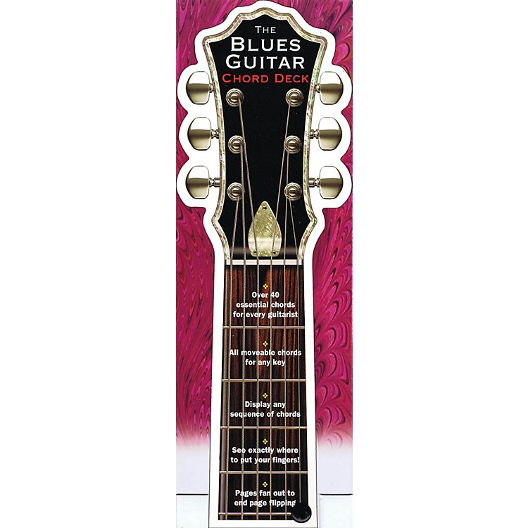 Music SalesThe Blues Guitar Chord Deck