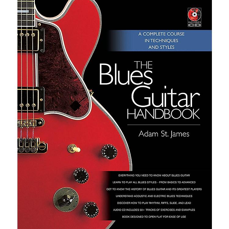 Backbeat BooksThe Blues Guitar Handbook Book Series Hardcover Media Online Written by Adam St. James