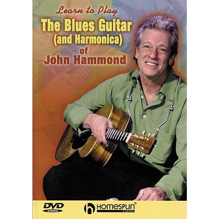 HomespunThe Blues Guitar & Harmonica of John Hammond (DVD)