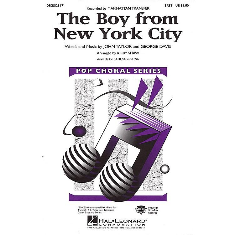 Hal LeonardThe Boy from New York City SATB by The Manhattan Transfer arranged by Kirby Shaw