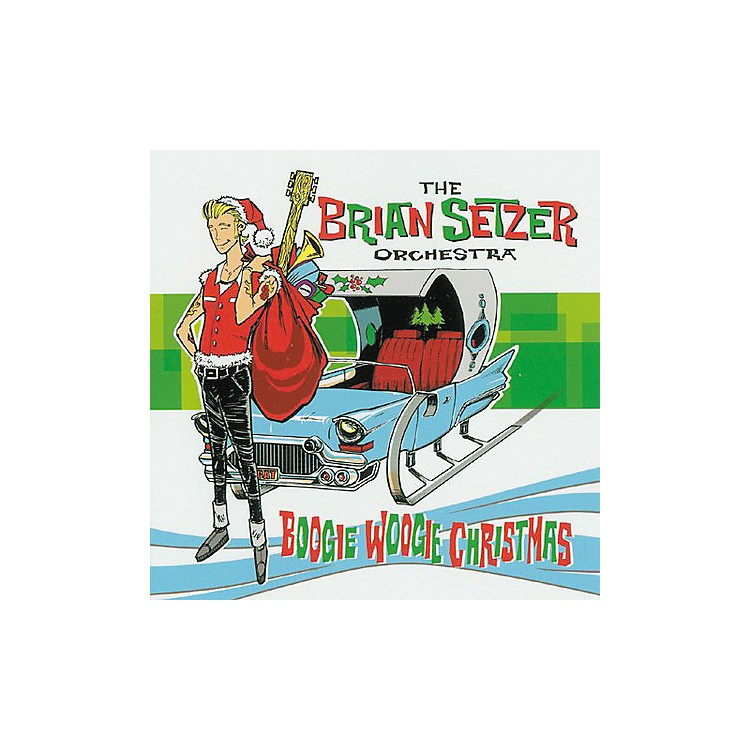 Gretsch The Brian Setzer Orchestra - Boogie Woogie Christmas Audio (CD)
