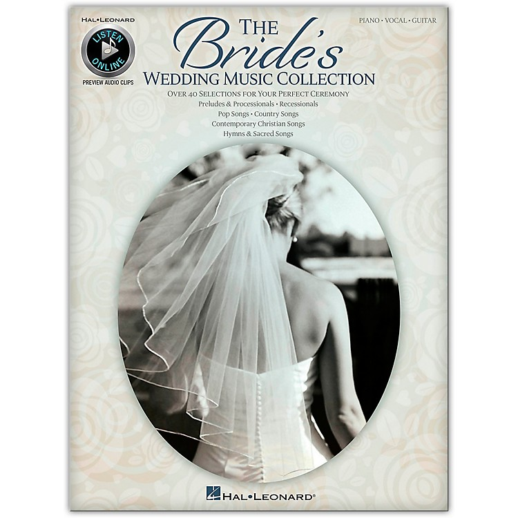 Hal Leonard The Bride's Wedding Music Collection for Piano/Vocal/Guitar (Book/Online Audio)