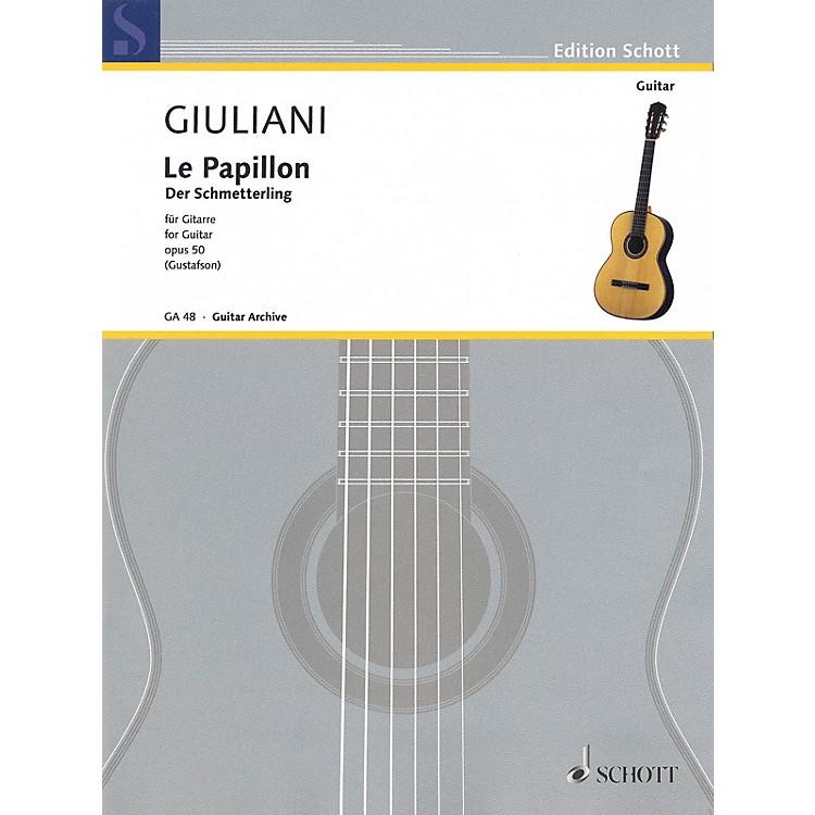 SchottThe Butterfly, Op. 50 (32 Easy Pieces for Beginning Guitar) Schott Series