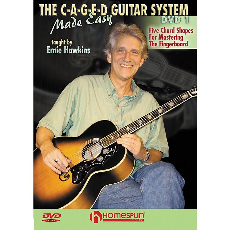 HomespunThe C-A-G-E-D Guitar System Made Easy DVD 1