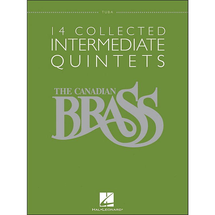 Hal LeonardThe Canadian Brass: 14 Collected Intermediate Quintets Songbook - Tuba