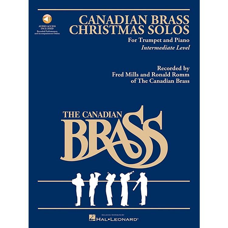 Hal LeonardThe Canadian Brass Christmas Solos Brass Series Book Audio Online