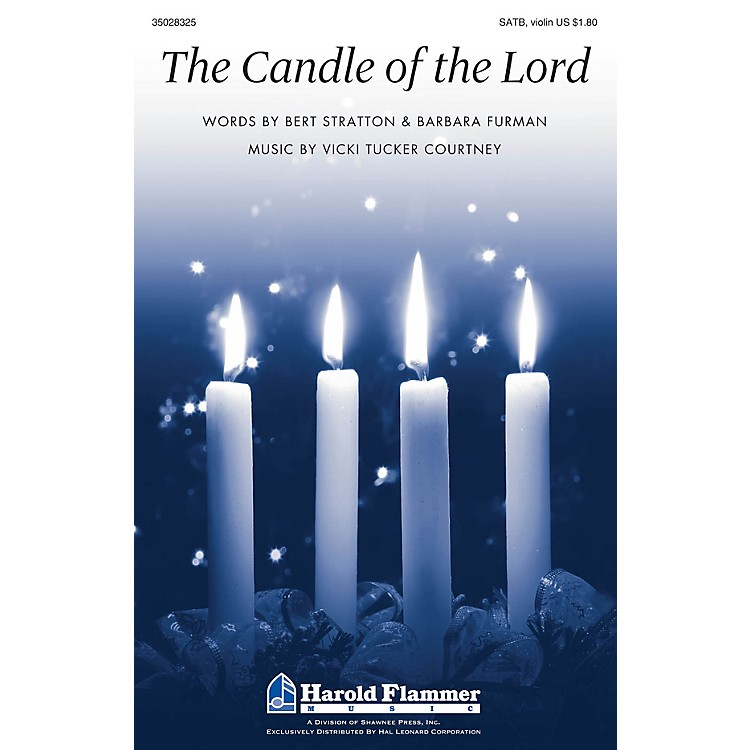 Shawnee PressThe Candle of the Lord SATB, VIOLIN composed by Vicki Tucker Courtney