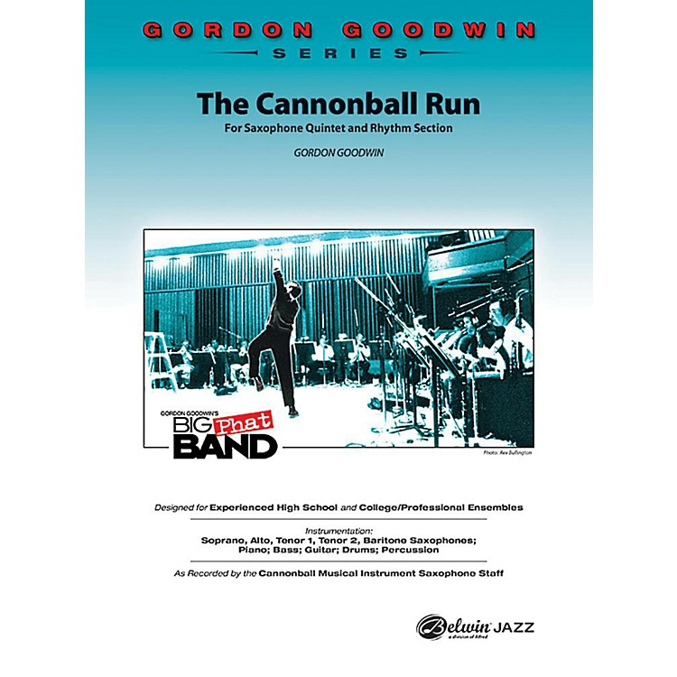Alfred The Cannonball Run Jazz Band Grade 5 Set