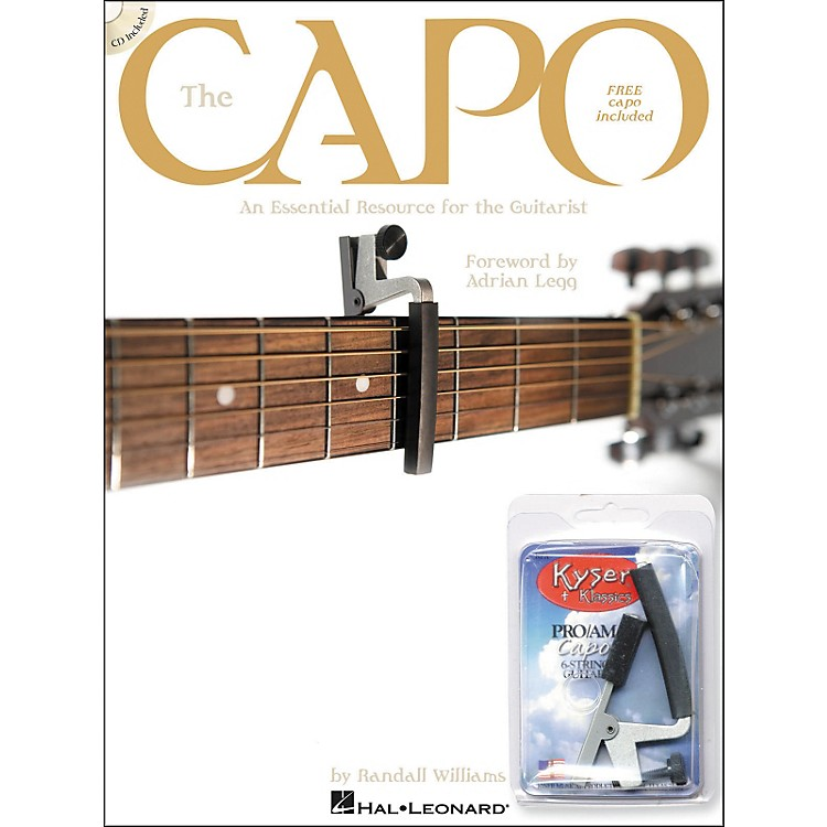 Hal Leonard The Capo - Book with CD & Free Kyser Capo