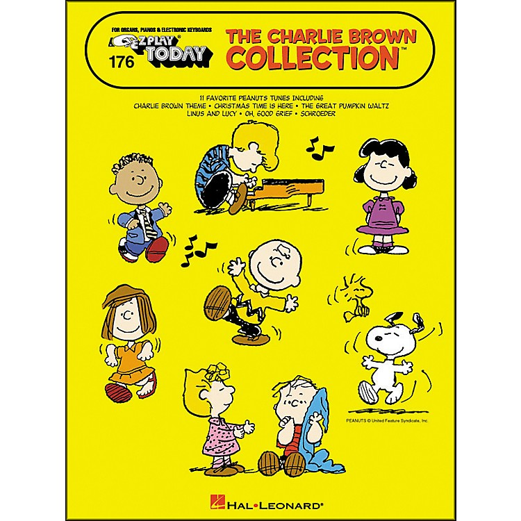 Hal LeonardThe Charlie Brown Collection E-Z Play 176