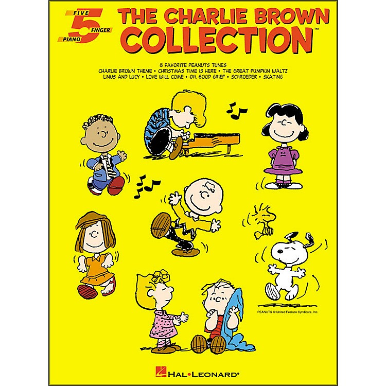 Hal LeonardThe Charlie Brown Collection for Five Finger Piano