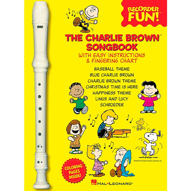 Hal LeonardThe Charlie Brown Songbook - Recorder Fun Book/Recorder Pack
