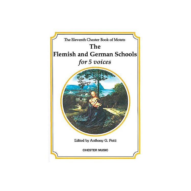 Chester MusicThe Chester Book of Motets - Volume 11 (The Flemish and German Schools for 5 Voices) SSATB
