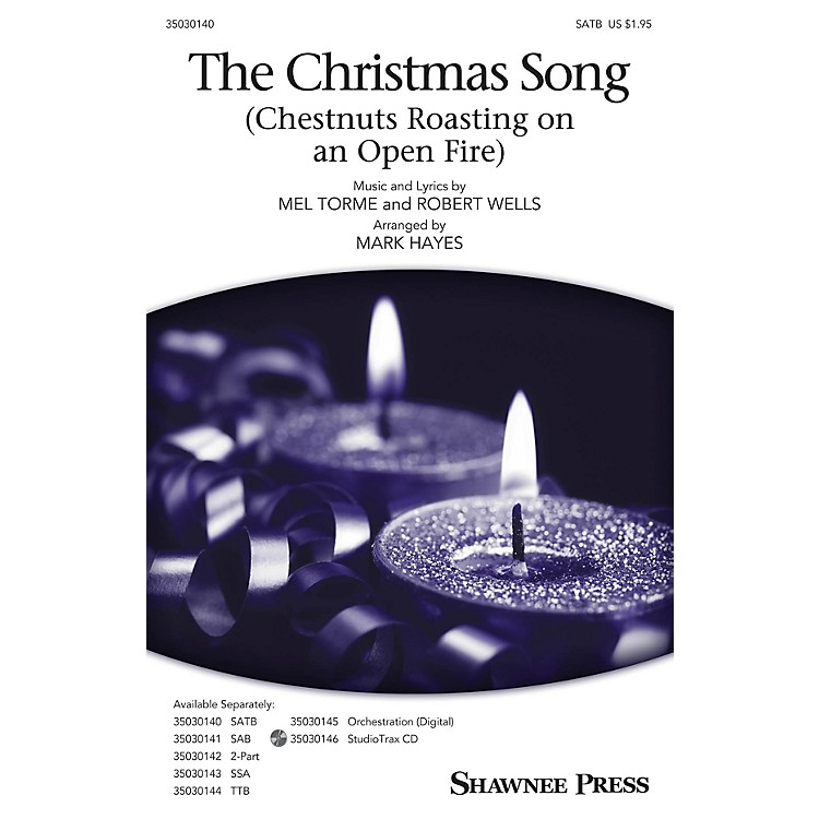 Shawnee PressThe Christmas Song (Chestnuts Roasting on an Open Fire) Studiotrax CD Arranged by Mark Hayes