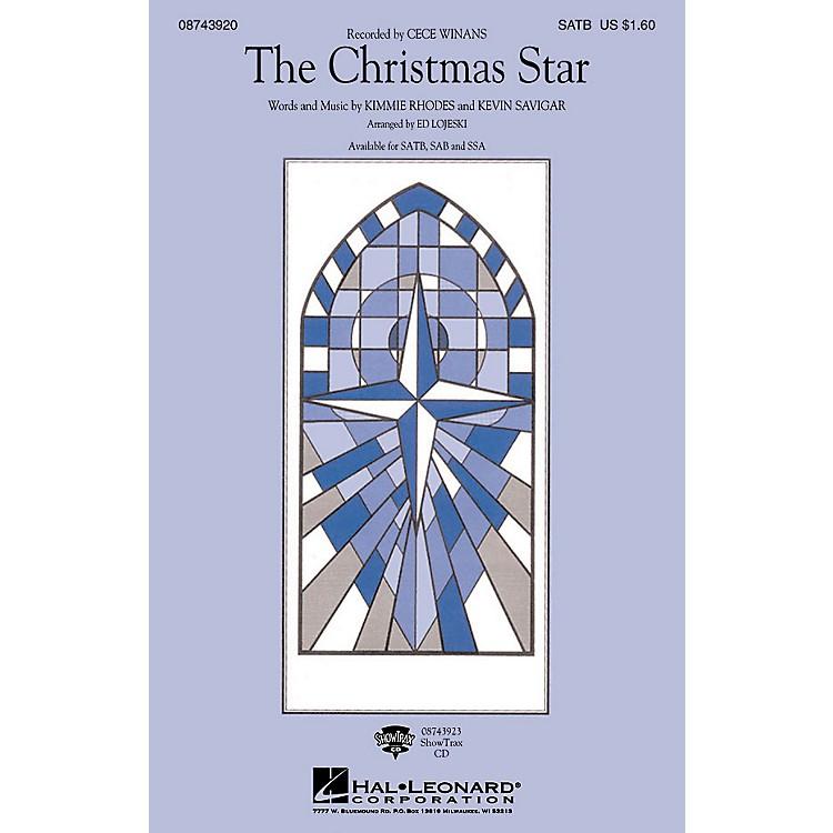 Hal LeonardThe Christmas Star SSA Arranged by Ed Lojeski