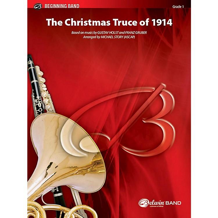 AlfredThe Christmas Truce of 1914 Concert Band Grade 1 Set