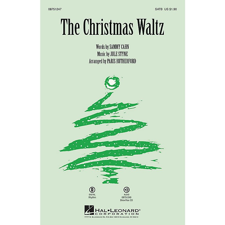Hal Leonard The Christmas Waltz ShowTrax CD Arranged by Paris Rutherford