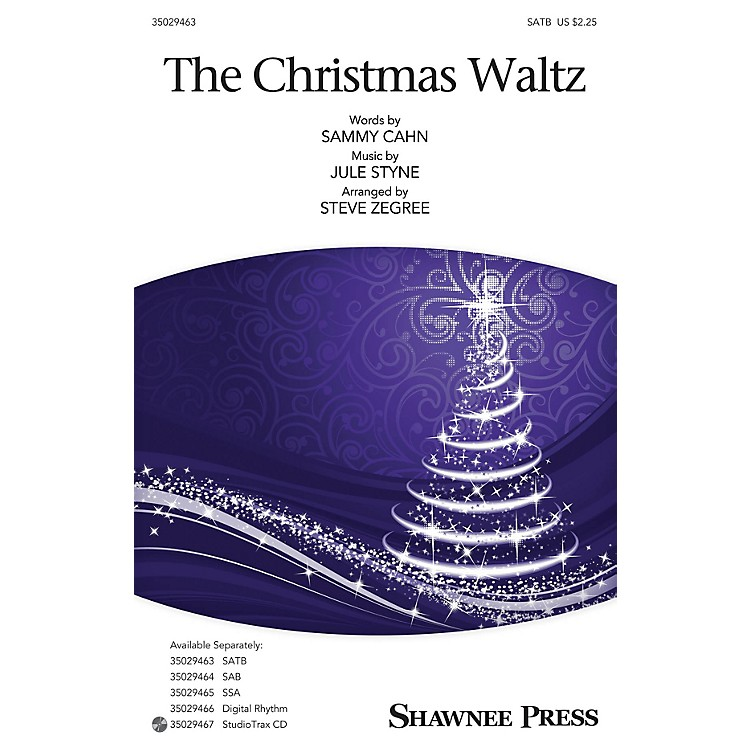Shawnee Press The Christmas Waltz Studiotrax CD Arranged by Steve Zegree