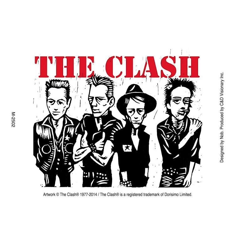 C&D Visionary The  Clash Magnet