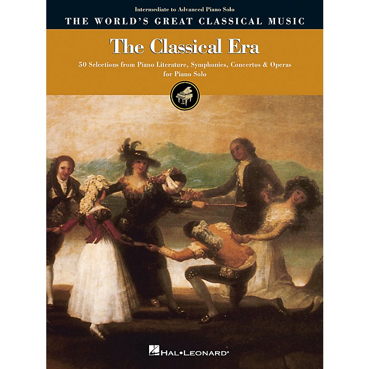 Hal LeonardThe Classical Era - Intermediate to Advanced Piano Solo World's Greatest Classical Music by Various