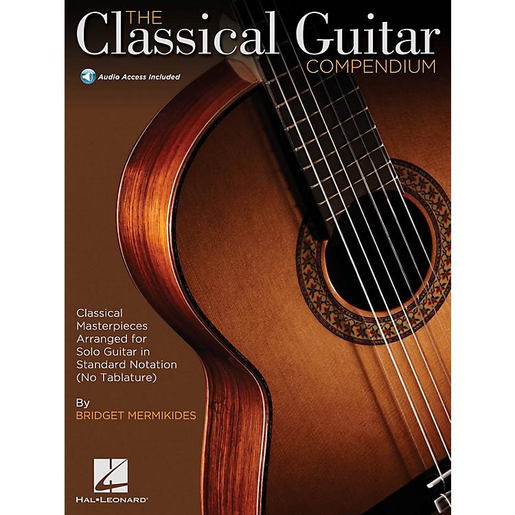Hal LeonardThe Classical Guitar Compendium - Classical Masterpieces for Solo GuitarBK/Audio Online by Mermikides