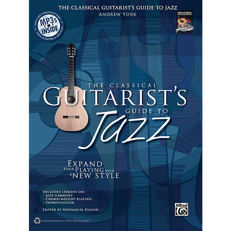 AlfredThe Classical Guitarist's Guide to Jazz Book & 3 CDs