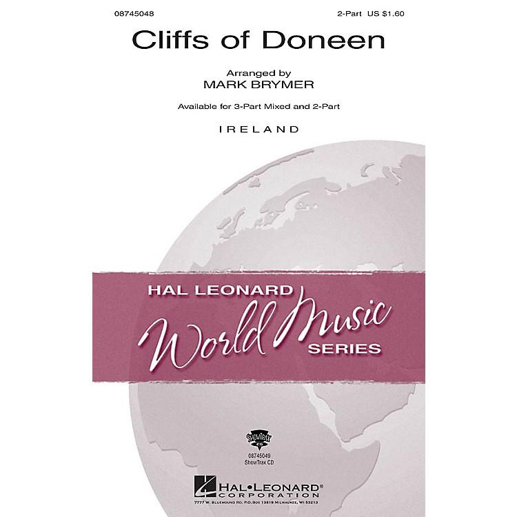 Hal LeonardThe Cliffs of Doneen 3-Part Mixed Arranged by Mark Brymer
